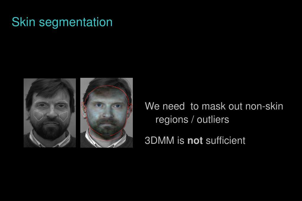 Skin segmentation