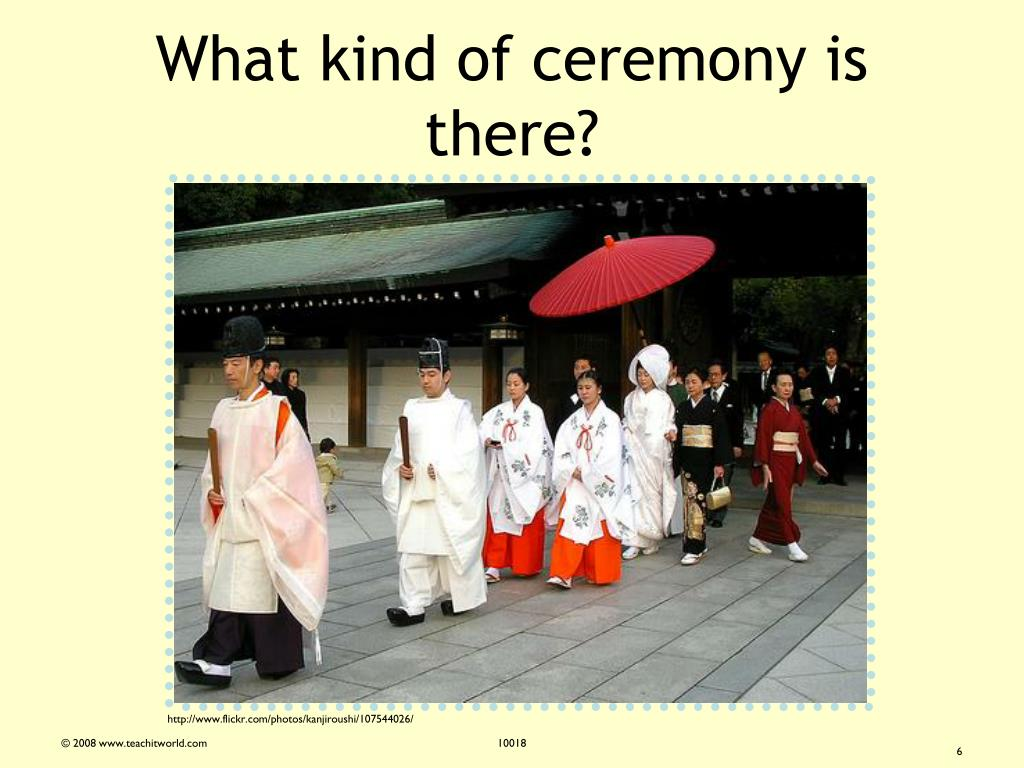 What kind of ceremony is there?