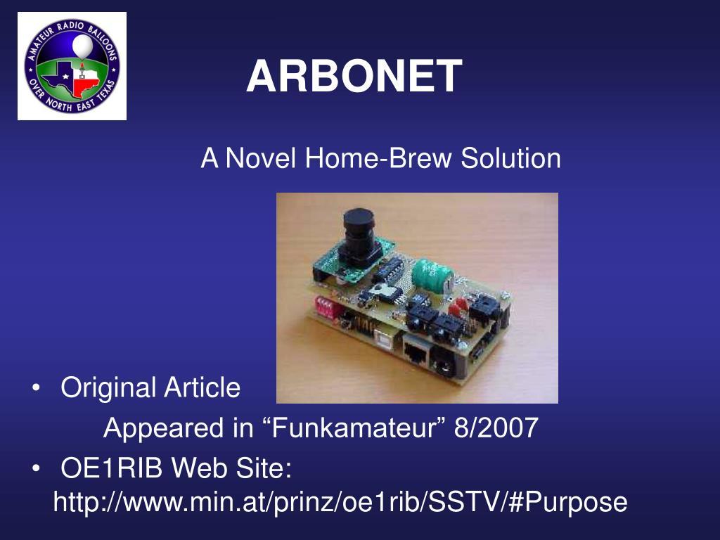 A Novel Home-Brew Solution