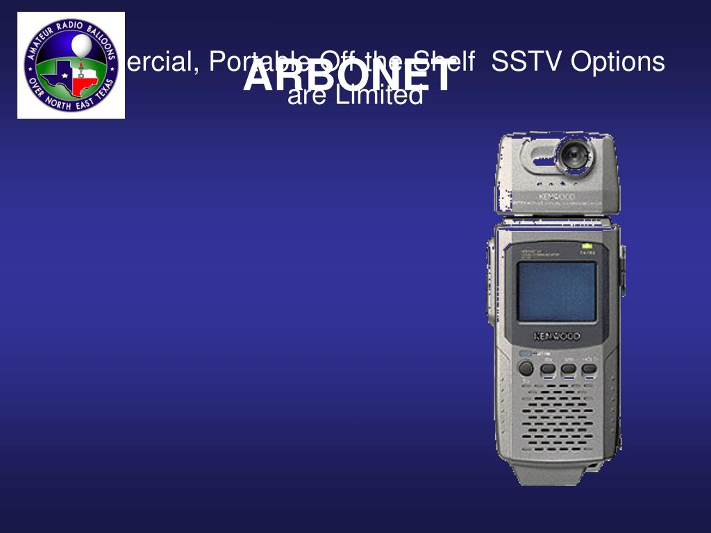 Commercial, Portable Off-the-Shelf  SSTV Options are Limited