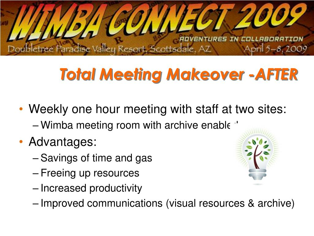 Total Meeting Makeover -AFTER