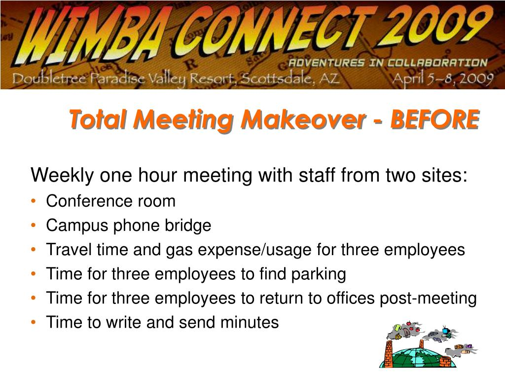 Total Meeting Makeover - BEFORE