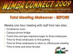 total meeting makeover before