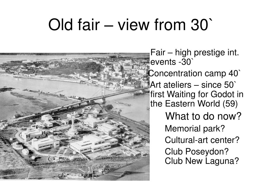 Old fair – view from 30`