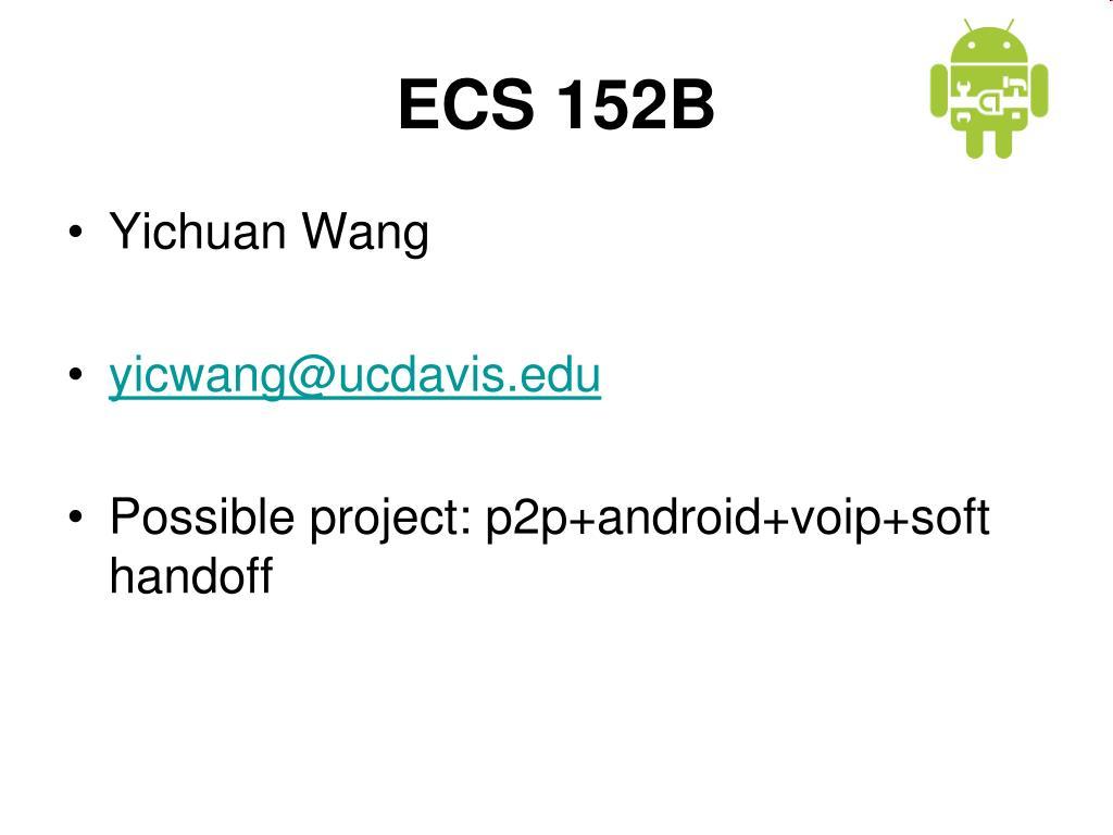 ECS 152B