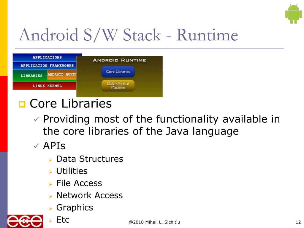 Android S/W Stack - Runtime