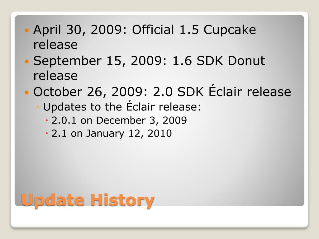 April 30, 2009: Official 1.5 Cupcake release