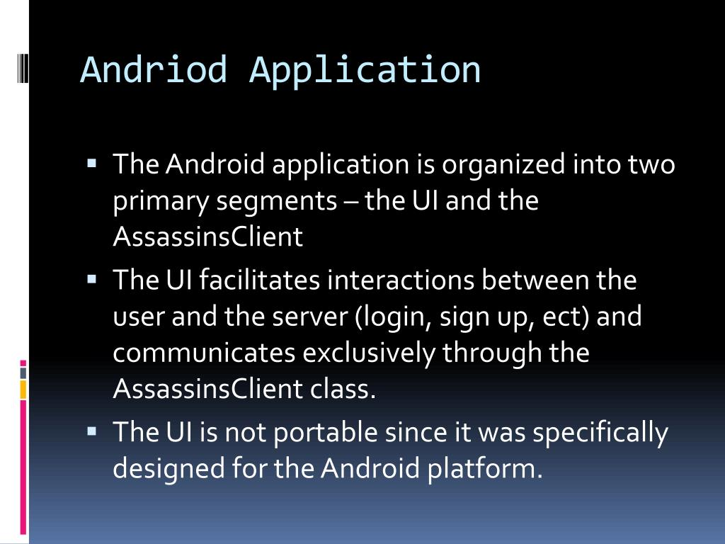 Andriod Application