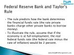 federal reserve bank and taylor s rule16