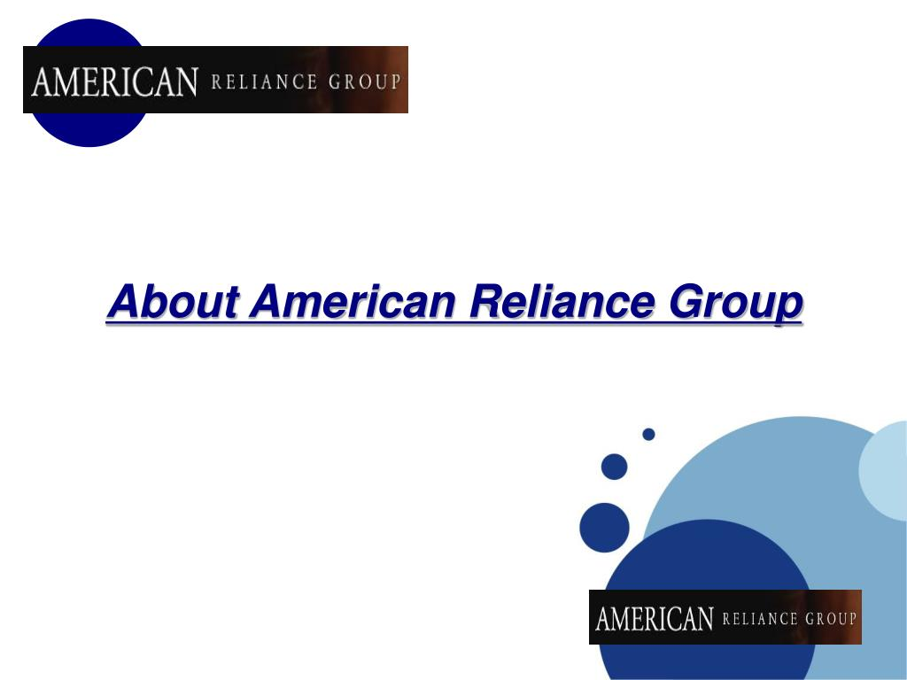 About American Reliance Group