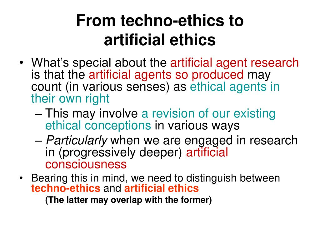 From techno-ethics to