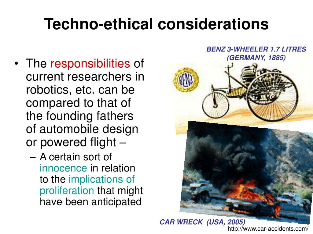 Techno-ethical considerations