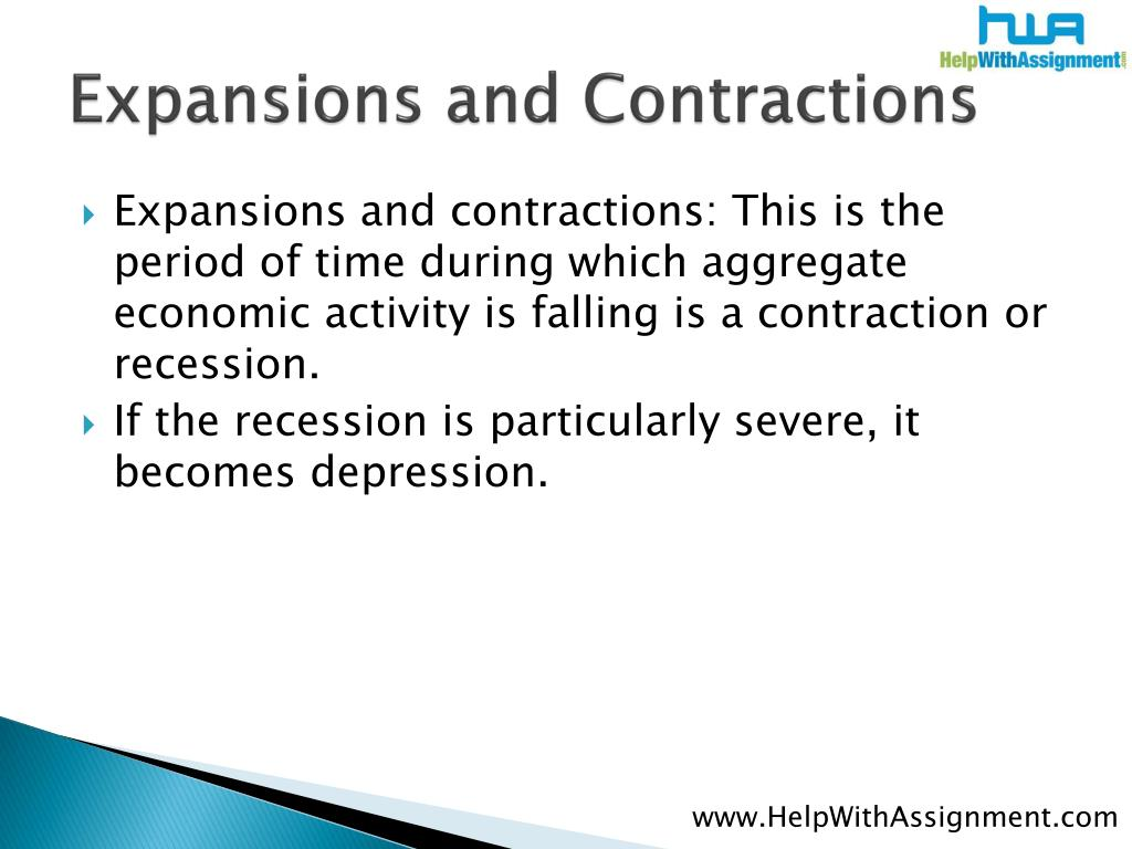 Expansions and Contractions