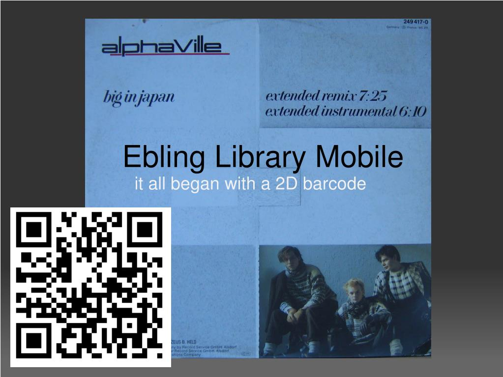 Ebling Library Mobile
