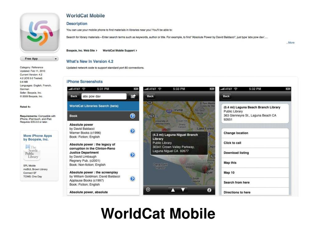 WorldCat Mobile
