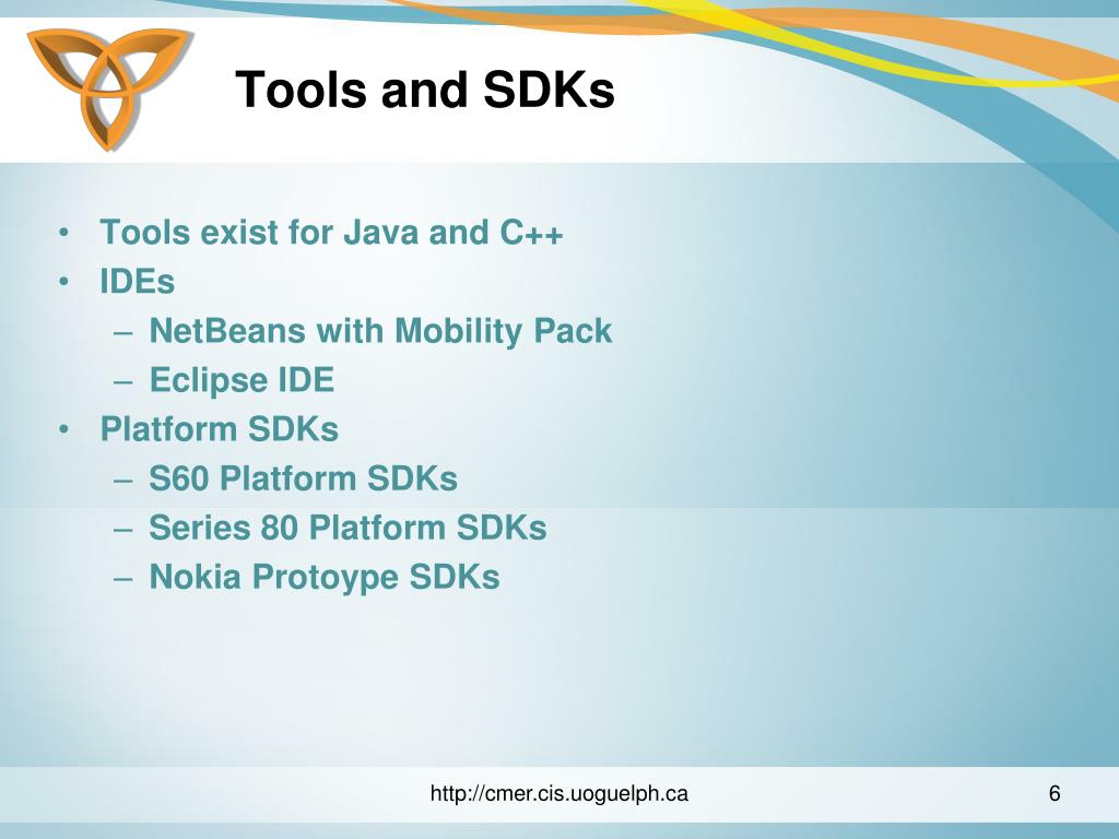 Tools and SDKs