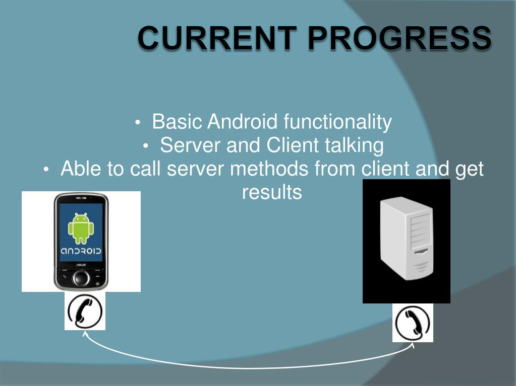 Basic Android functionality