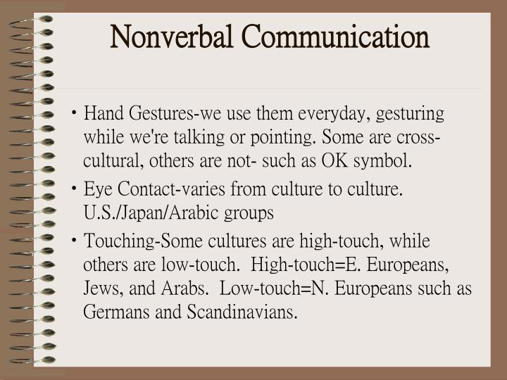 an american vietnamese cross cultural study nonverbal expressions From the researcher's point of view, further studies should be conducted including: - an american-vietnamese cross-cultural study on accepting an invitation - an american-vietnamese cross-cultural study on the effects of nonverbal communication in responding an invitation.