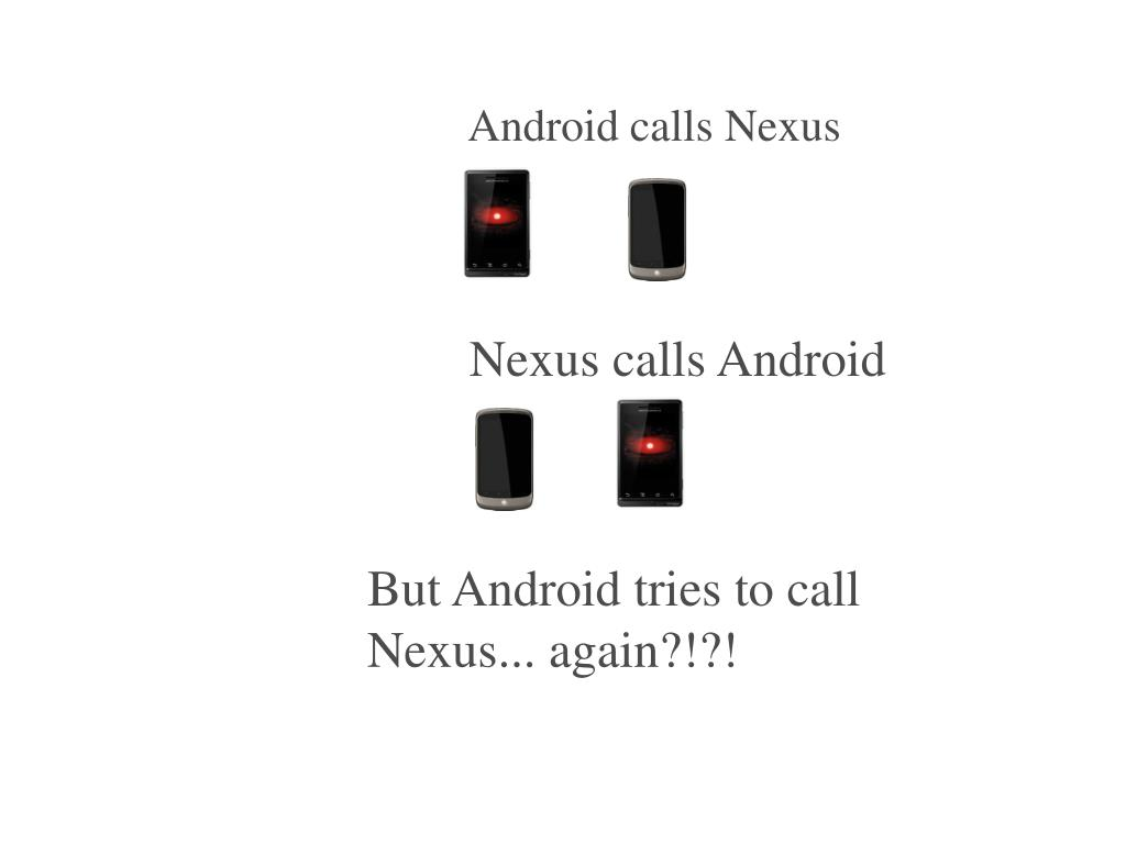 Android calls Nexus