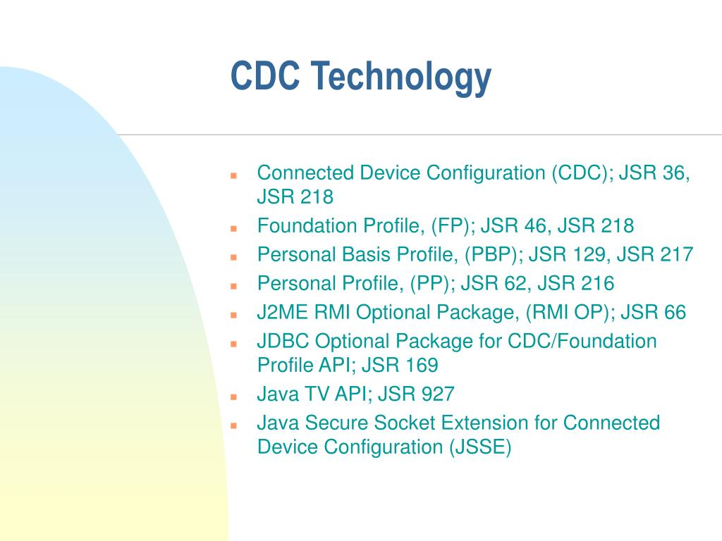 CDC Technology