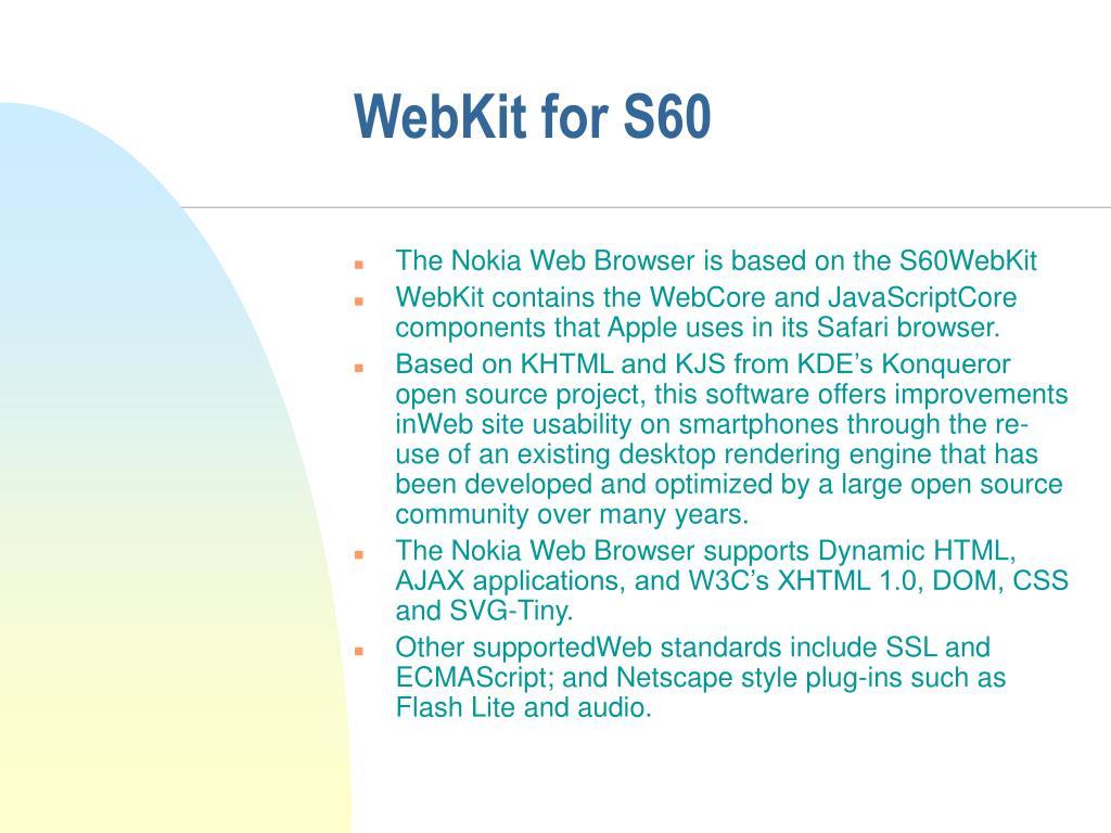 WebKit for S60