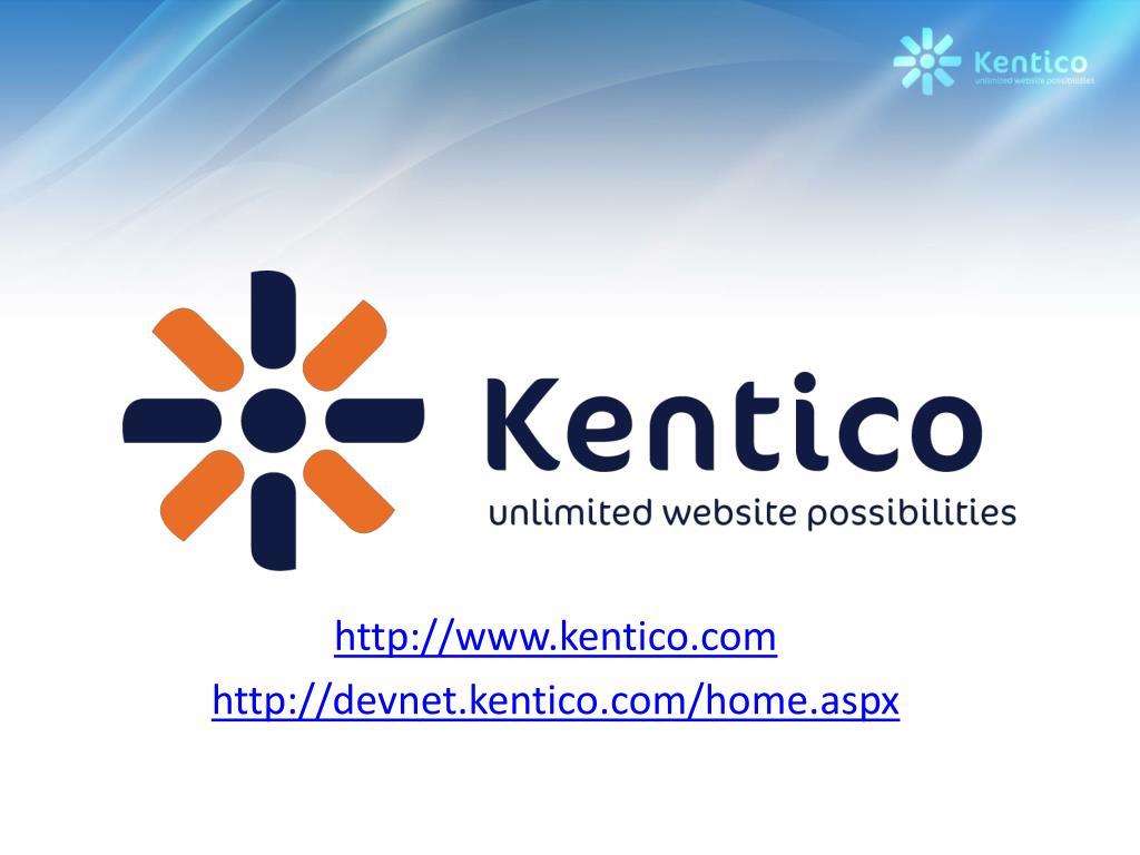http://www.kentico.com
