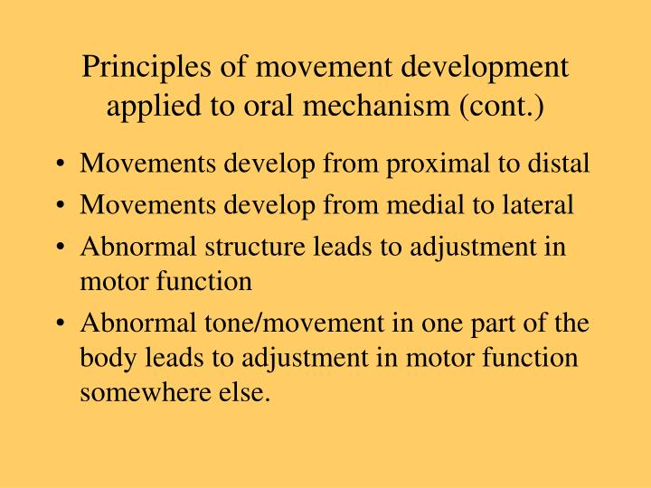 mechanisms of motor development Lab #7: nerve pathways and somatosensory physiology background the nervous system plays a central role in homeostasis the central nervous system.
