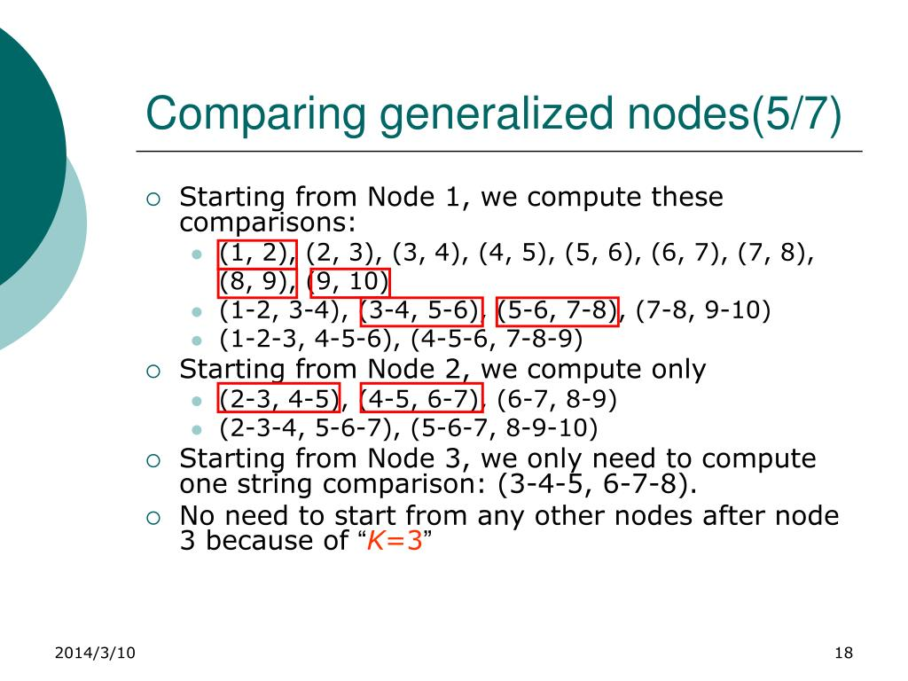 Comparing generalized nodes(5/7)