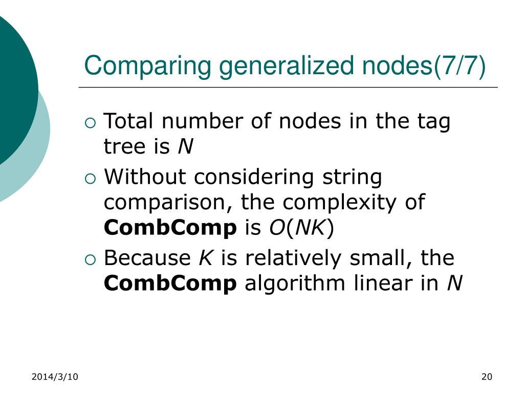 Comparing generalized nodes(7/7)