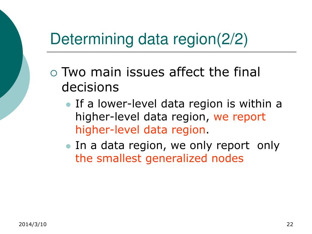 Determining data region(2/2)