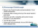 5 encourage clickthrough