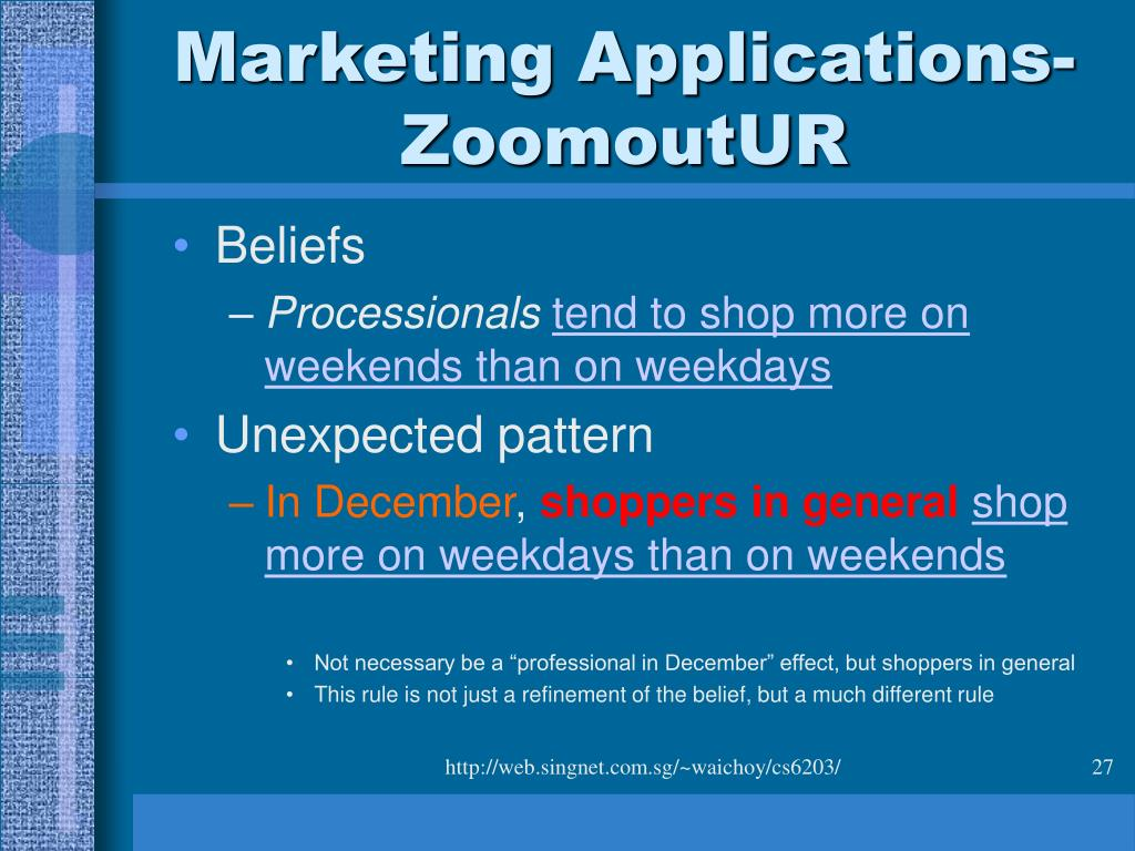 Marketing Applications-ZoomoutUR