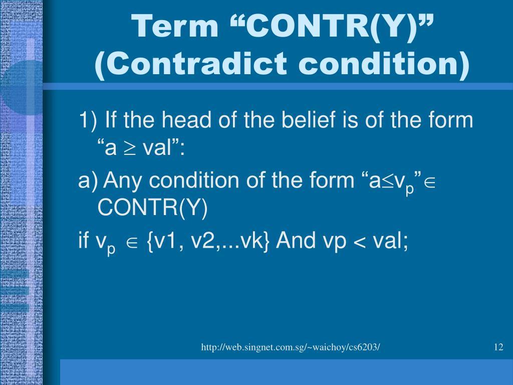 """Term """"CONTR(Y)"""""""