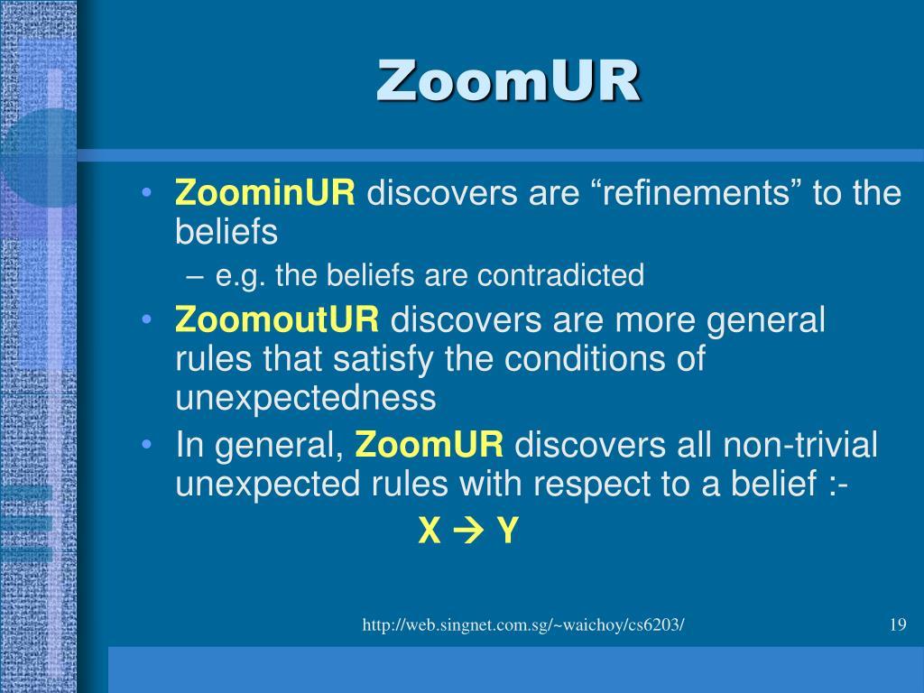 ZoomUR