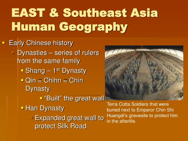 EAST & Southeast Asia Human Geography