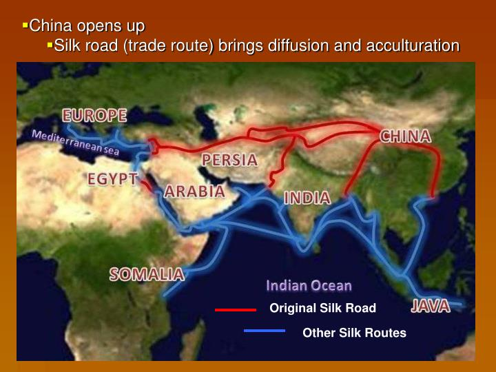 China opens up