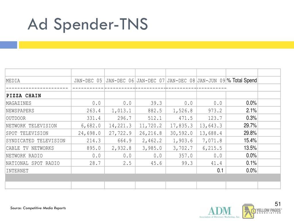 Ad Spender-TNS
