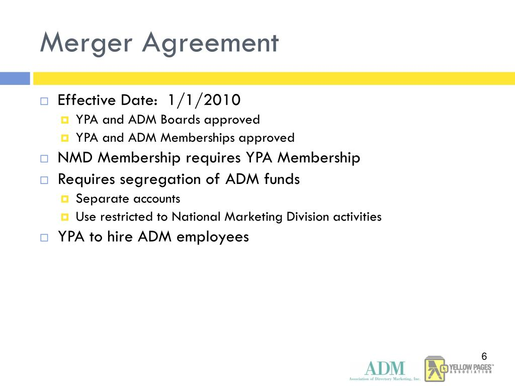 Merger Agreement
