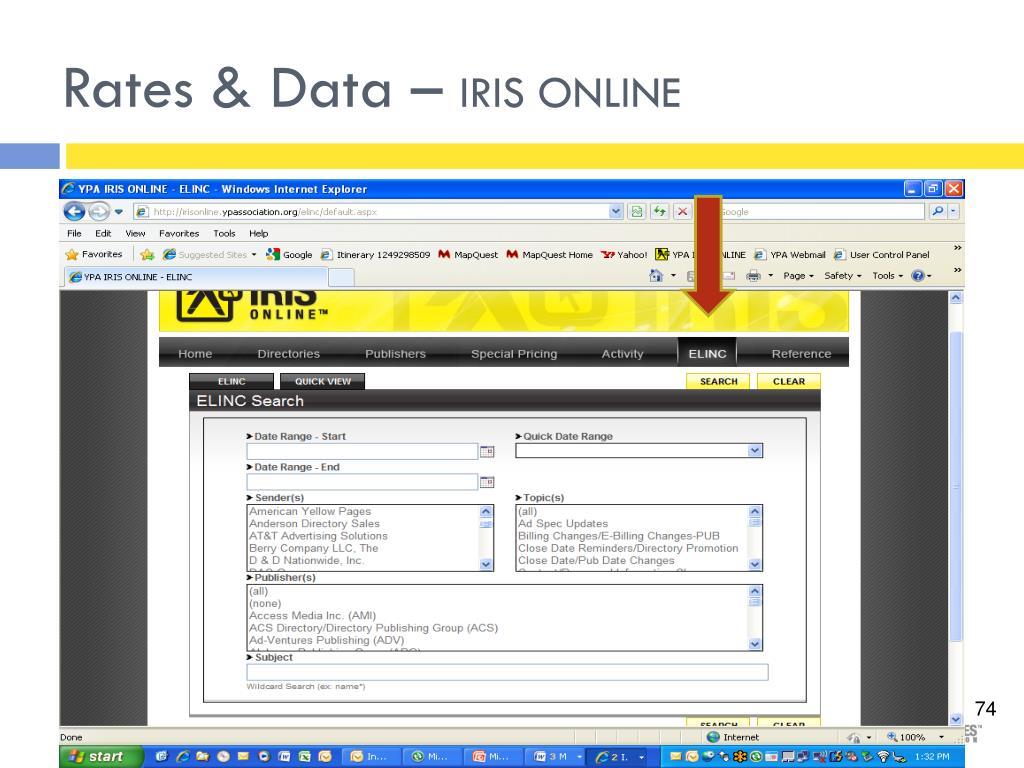 Rates & Data –