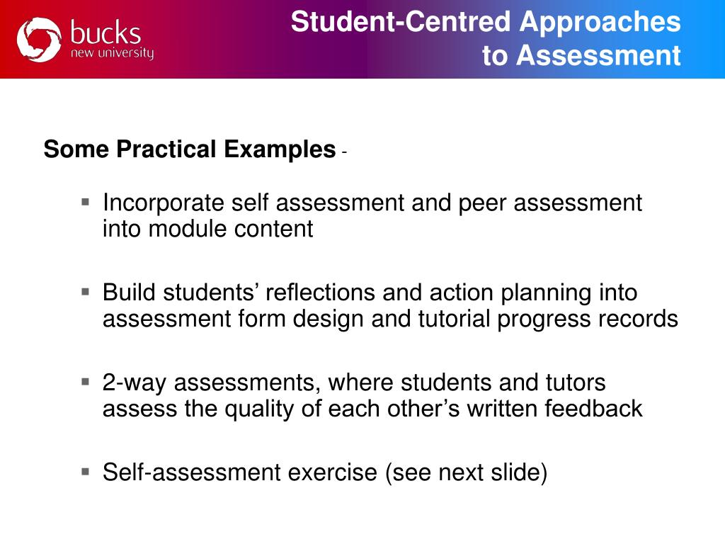 Student-Centred Approaches
