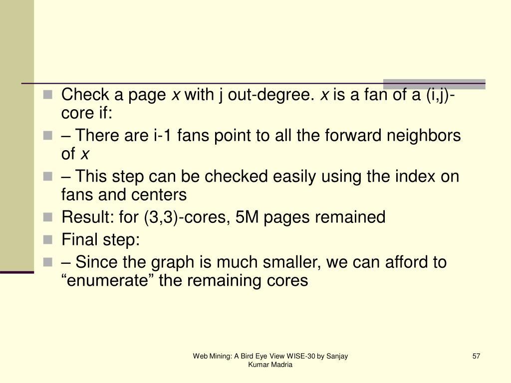 Check a page
