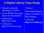 a digital library case study
