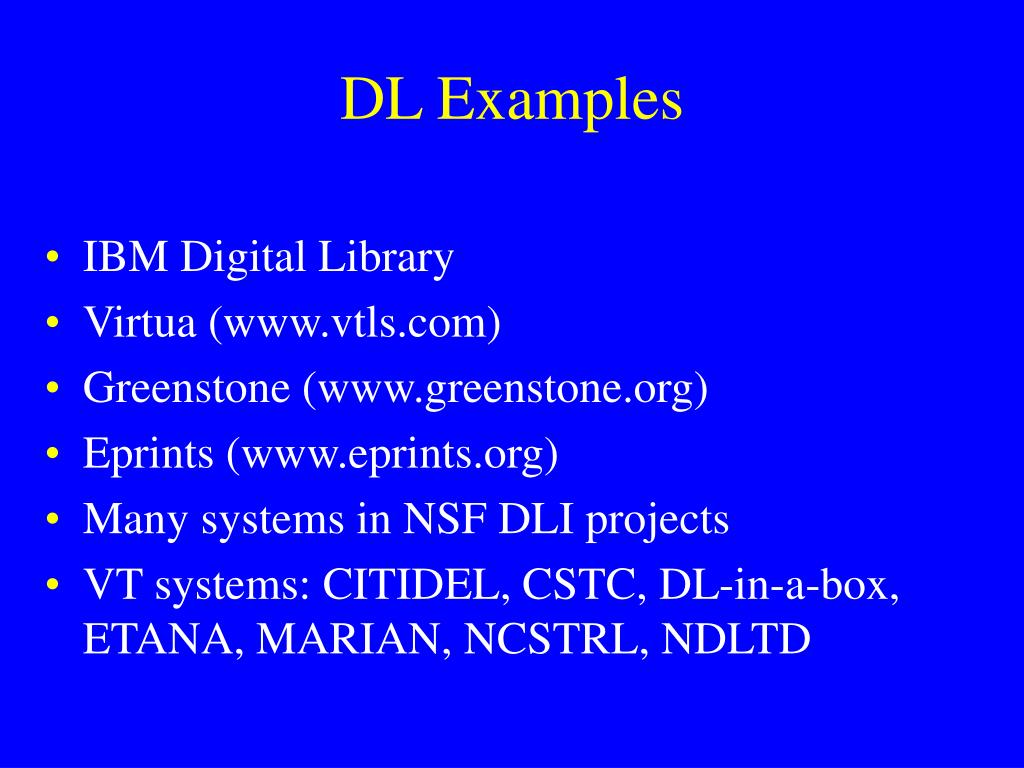 DL Examples
