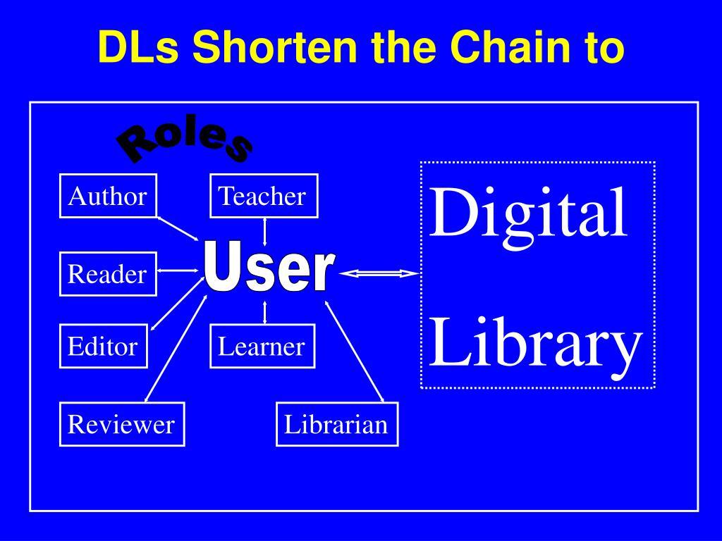 DLs Shorten the Chain to