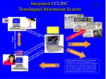 integrated cclinc translingual information system