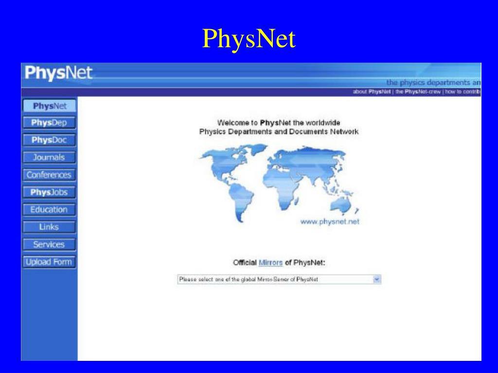 PhysNet