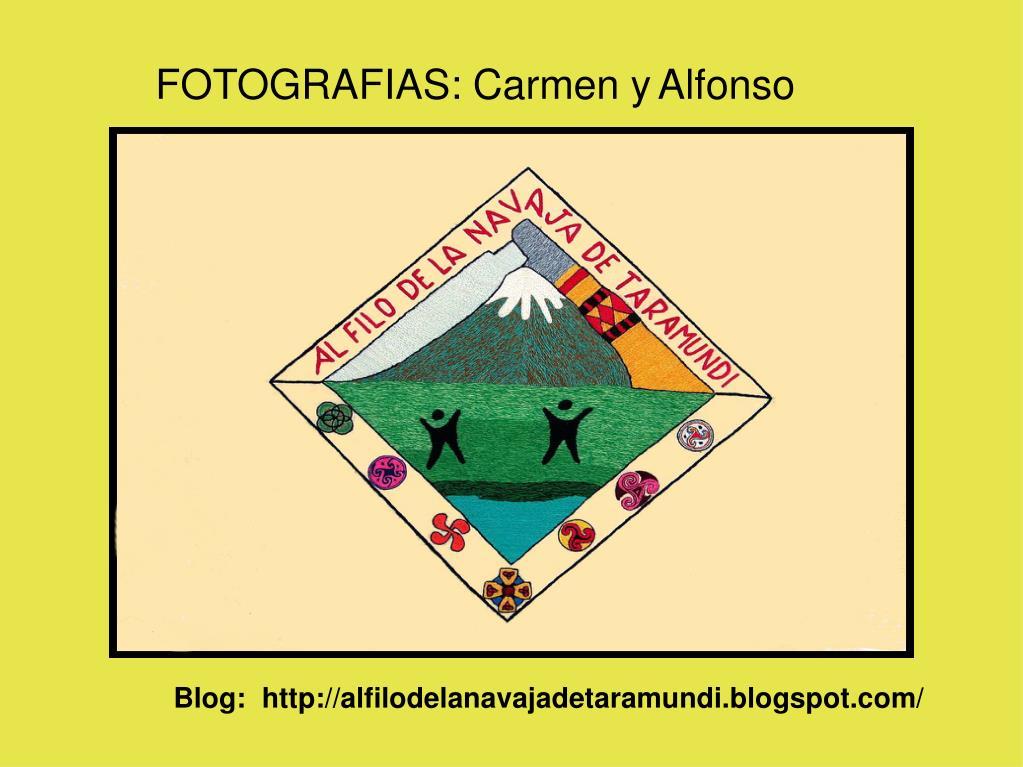 FOTOGRAFIAS: Carmen y