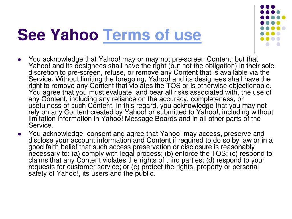 See Yahoo