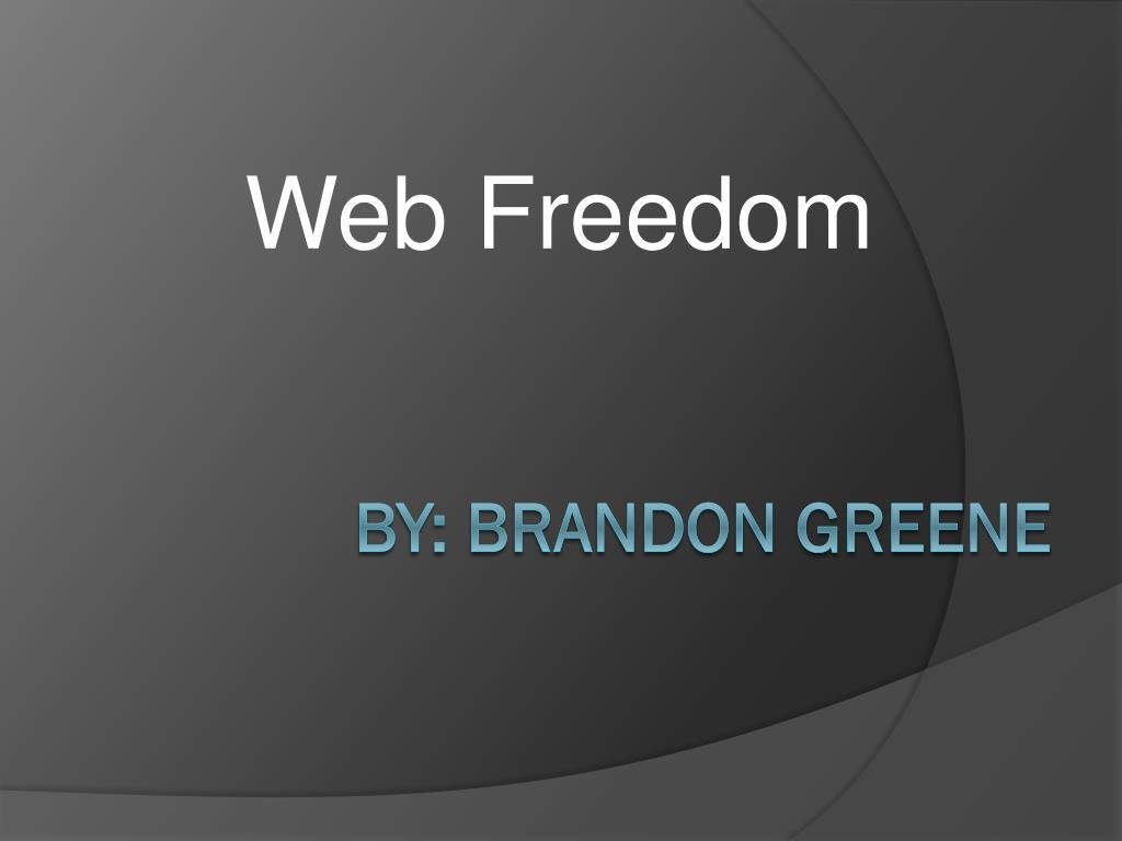 Web Freedom