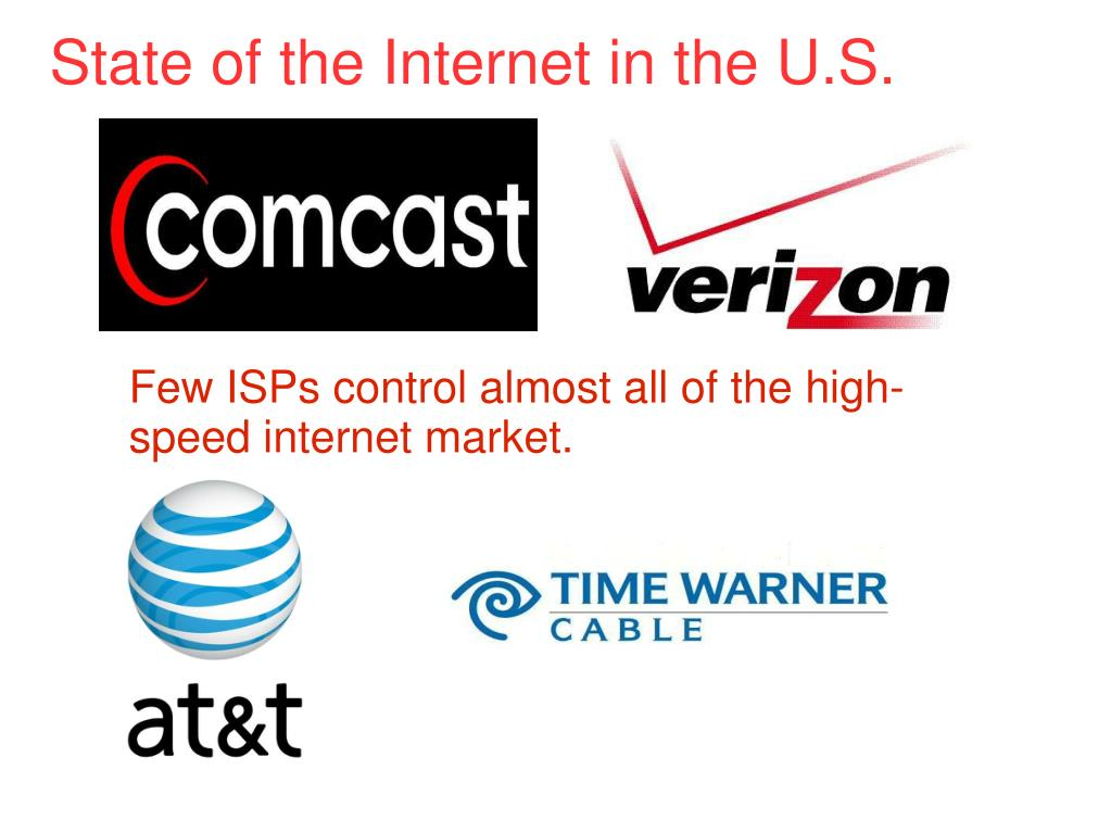 State of the Internet in the U.S.